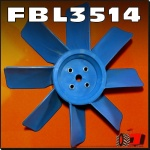 FBL3514 Radiator Fan Blade Set 2000 2310 2600 2610 2810 2910 3000 3230 3430 3600 3610 3900 3910 3930 4000 4100 4110 4130 4600 4610 4630 Tractor all requiring 16in OD 8 Blade Fan