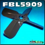 FBL5909 Radiator Fan Blade Set Massey Ferguson 168 174 175 178 184 185 188 194 265 274 275 284 285 290 565 575 590 Tractor and MF 165 with RH Exhaust