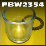 FBW2354 Glass Fuel Bowl Chamberlain 6G 9G 212 236 306 354 C456 C670 C6100 Tractor and Mk2 Mk3 2000 Industrial loader - 54mm OD