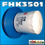 "FHK3501 Oil Filter Conversion Kit Ford 3000 5000 Tractor to replace cartridge w 4"" Spin-On Filter"