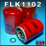 FLK1102 Oil Fuel Filter Kit Allis Chalmers D21 and Early 7000 Tractor with AC D2900 D3400 D3500 Diesel Engine