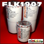FLK1907 Oil Fuel Filter Kit Case IH 9150 9170 9180 Steiger Tractor built before 1990 with two oil filters