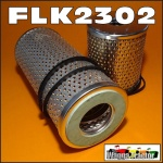 FLK2302 Oil Fuel Filter Kit Chamberlain 9G Tractor with Late Perkins 4-270D Engine