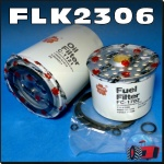 FLK2306-C Oil Fuel Filter Kit Chamberlain Countryman 6 Tractor with single FF