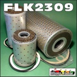 FLK2309 Oil Fuel Filter Kit Chamberlain Super 70 90 Tractor w Detroit  3-71  Engine