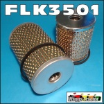 FLK3501 Oil Fuel Filter Kit Ford Fordson Dexta Super-Dexta Tractor and Power-Major Super-Major Tractor, built 1958 onwards, with single fuel filter