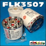 FLK3507 Oil Fuel Filter Kit Ford 2000, 2600, 2610, 2910, 3000, 3230, 3430, 3600, 3610, 3910, 3930, 4000, 4100, 4110, 4130, 4600, 46101 4630, 4830, 5000, 5110, 5600, 5610, 6600, 6610, 6710, 6810, 7000, 7600, 7610, 7700, 7710 Tractor w 10cm Spin-On LF