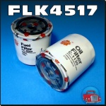 FLK4517 Oil Fuel Filter Kit Holden RA Rodeo Isuzu 3.0L 4JH1 Turbo Diesel Engine