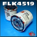 FLK4519 Oil Fuel Filter Kit Holden TF Rodeo w Isuzu 2.8L 4JB1-T Diesel Engine