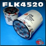 FLK4520 Oil Fuel Filter Kit Holden KB Rodeo w Isuzu 2.0L 2.2L C223 Diesel Engine