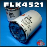 FLK4521 Oil Fuel Filter Kit Holden TF Rodeo w Isuzu 3.0L 4JH1-T Diesel Engine