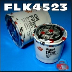 FLK4523 Oil Fuel Filter Kit Holden Jackaroo with Isuzu 2.2L C223 Diesel Engine