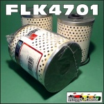 FLK4701 Oil Fuel Filter Kit John Deere 1010, 2010 Tractor with JD 4-145D 4-165D Engine