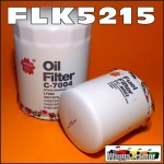 FLK5215 Oil Fuel Filter Kit Kubota M7580 M8580 M9580 Tractor all with spin-on fuel filter