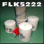 FLK5222 Oil Fuel Air HST Hyd Filter Kit Kubota F2400 F2400B Out Front Mower Tractor