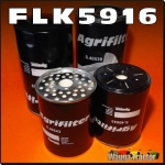 FLK5916 Oil Fuel Filter Kit Massey Ferguson MF 2745 2775 2805 Tractor all with two 18cm long oil filters and two 11cm long CAV fuel filters
