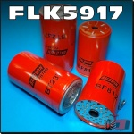 FLK5917 Oil Fuel Filter Kit Massey Ferguson MF 1155 Tractor with Perkins V8-540 Diesel Engine all with two 18cm long oil filters and two 14cm long CAV fuel filters