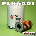 FLK6401 Oil Fuel Filter Kit Ford 1120 1215 1220 Tractor & New Holland NH TC18 TC21 Tractor
