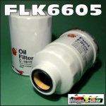 FLK6605 Oil Fuel Filter Kit Nissan D21 Navara 1992 thru 1997 with TD27 2.7L Diesel Engine and D22 Navarra 1997 thru 2001 with QD32 3.2L Diesel engine, all with 36M1.5 sensor port in fuel filter 14cm long
