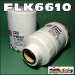 FLK6610 Oil Fuel Filter Kit Nissan GQ GU Patrol 1995 thru 2001with 2.8L Turbo Diesel Engine, all with spin-on oil filter and 36M1.5 sensor port in fuel filter 14cm long