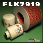 FLK7919-C Sakura Filter Kit Toyota Landcruiser HZJ105 4.2L Diesel Oil Fuel Air