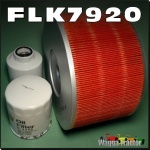 FLK7920-C Sakura Filter Kit Toyota Landcruiser HDJ78 HDJ100 4.2L Oil Fuel Air