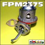 FPM2375 Fuel Lift Pump Chamberlain Champion 306, C670 Tractor and Countryman 6, 354, C6100 Tractor, plus 2000 Industrial Wheeled Loader, with Perkins 6-306 6-354 6-372 Engine, Early models with 2-Bolt Mounting