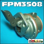 FPM3508 Fuel Lift Pump Ford 2701E 2703E 2704E 2706E 2708E 2709E 2711E 2712E 2713E 2714E 2715E 2724E 2725E D330 D360 D360T D380 4D240 4D254 4D255 6D330 6D360 6D380 4Cyl and 6Cyl Diesel Engine, all when equipped with diaphragm type lift pump