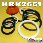 HRK2661 Steering Ram Seal Kit David Brown 885, 990, 995 996, 1200, 1210, 1212 Tractor, all with hydrostatic steering (no drag link) and with side mounted cylinder