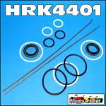 HRK4401 Steering Ram Seal Kit International IH 454, 474, 475, 484, 574, 584, 674, 684, 784, 884 Tractor & Case-IH 385, 395, 485, 495, 585, 585, 595, 685, 695, 785, 795, 885, 895, 3210, 3220, 3230, 4210, 4220, 4230, 4240 Tractor, all with 2WD