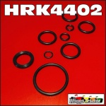 HRK4402 Power Steering Ram Seal Kit International IH AW7, AWD7, A554, 564 Tractor with Monroe Cylinder