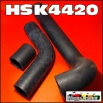 HSK4420 Radiator Hose Kit International ACCO A B C D Truck 1630A 1630B 1730A 1730B 1730C 1830A 1830B 1830C 1830D 1930A all with IH Neuss D358 Diesel Engine