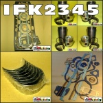 IFK2345 In-Frame Engine Rebuild Kit Chamberlain 9G Tractor and Mk2 Industrial Loader with Perkins 4-270D Diesel Engine