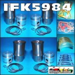 IFK5984 Rebuild Kit Massey Ferguson TEA20 Tractor Upgrades 80mm to 85mm Engine