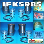 IFK5985 Rebuild Kit Massey Ferguson TEA20 Tractor w original 85mm bore Engine