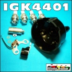 IGK4401 Ignition Tune-Up Kit International IH Super AW6, AW7, A554 Tractor with Lucas Distributor
