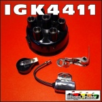 IGK4411 Ignition Cap Rotor Points Kit International IH AL 110 130 160 Truck with Delco