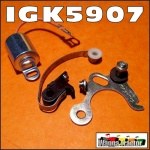 IGK5907 Tune-Up Kit Massey Ferguson TEA20, 35, 135 Tractor - contains Points & Condenser for Replacement Distributor