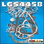 LGS4458 Lower Gasket Set International 766, 786, 866, 886 Tractor and IH ACCO A B C D Truck with Neuss D310 D358 DT358 6-Cyl Diesel Engine