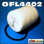 OFL4402 Oil Filter International IH AL AR AS Line Truck ByPass Element Sock Type also fitted to later models as remote bypass filter with T-handle on lid