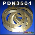 PDK3504 PTO Shaft Clutch Disc Kit Ford 5600 6600 6700 7700 Tractor w 8 disc pack