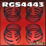 RGS4443 4x Piston Ring Sets International IH Super AWD6, AWD7, A554, 564 Tractor, with IH AD264 4-Cyl Diesel Engine