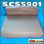 SCS5901 Tractor Seat Cushion Set David Brown 850, 950, 990 Tractor, Fordson Major Tractor, Massey Ferguson MF FE35, 35, 65, 135 148, 165, 168, 175, 178, 185, 188 Tractor, all with Pan Type Seat
