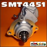SMT4451 Starter Motor International IH 696, 766, 866, 976, 786, 886, 986 Tractor with IH Neuss D310, D358, DT358 6-Cyl Diesel Engine - mounted at rear of engine, drives CCW