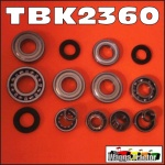 TBK2360 Front Transmission Bearing and Seal Kit Chamberlain Champion 6G, 9G Tractor, Countryman Mark III Tractor, Countryman 6 Tractor, and Mk2 Industrial Loader with Collarshift Transfer Box
