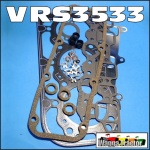 VRS3533 VRS Head Gasket Set Ford 3610 3910 3930 4000 4110 4130 4600 4610 4630 Tractor, all with BSD332 BSD333 BSD333H 3-Cyl Diesel Engine