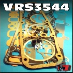 VRS3544 VRS Head Gasket Set Ford 5000 6Y, and 6600 6610 6700 6810 7000 7600 7610 7700 7710 Tractor all with BSD444 BSD444T 4-Cyl Diesel Engine - 4.4in Bore