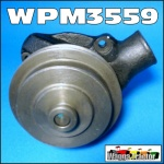 WPM3559 Water Pump Ford D400, D500, D600, D750, D1011, D1211, D1215, D1314, D Series Truck with D365 D380 Diesel Engine plus 2706E 2708E 2709E 2712E 2714E 2715E 4D240 4D254 6D330 6D360 6D365 6D380 Industrial Engine, all with Inlet at 2 O-clock