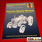 WSM5975 Workshop Manual Massey Ferguson TEA20 TEF20 FE35 Tractor MF 35 w 4Cyl Engine