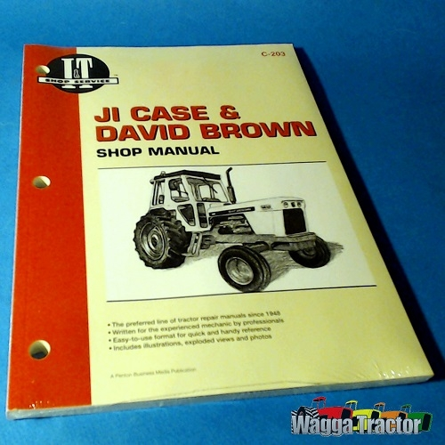 Wagga Tractor parts - C203 Workshop Manual for David Brown